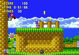 Sonic 1 Megamix (beta 4.0) Screenshot 2