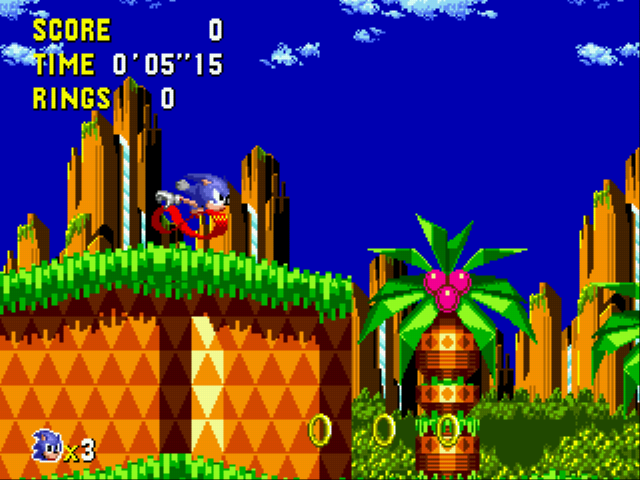 Sonic CD (european version) Screenshot 1