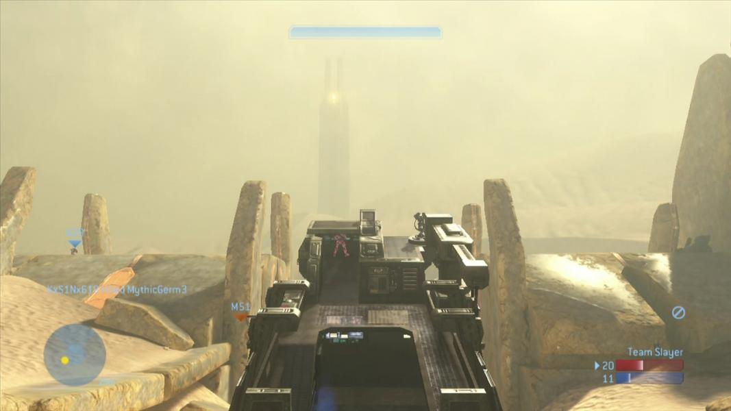 Halo 3 - Level Sandtrap - Driving the Elephant - User Screenshot