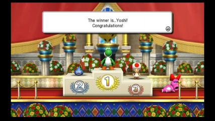 Fortune Street - Cut-Scene  - I win! - User Screenshot