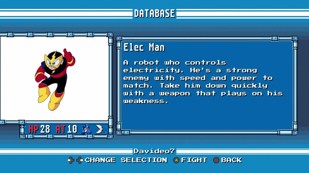 Elec Man -Character Profile :Mega Man Database - User Screenshot
