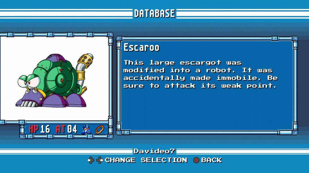Escaroo -Character Profile :Mega Man 4 Database - User Screenshot
