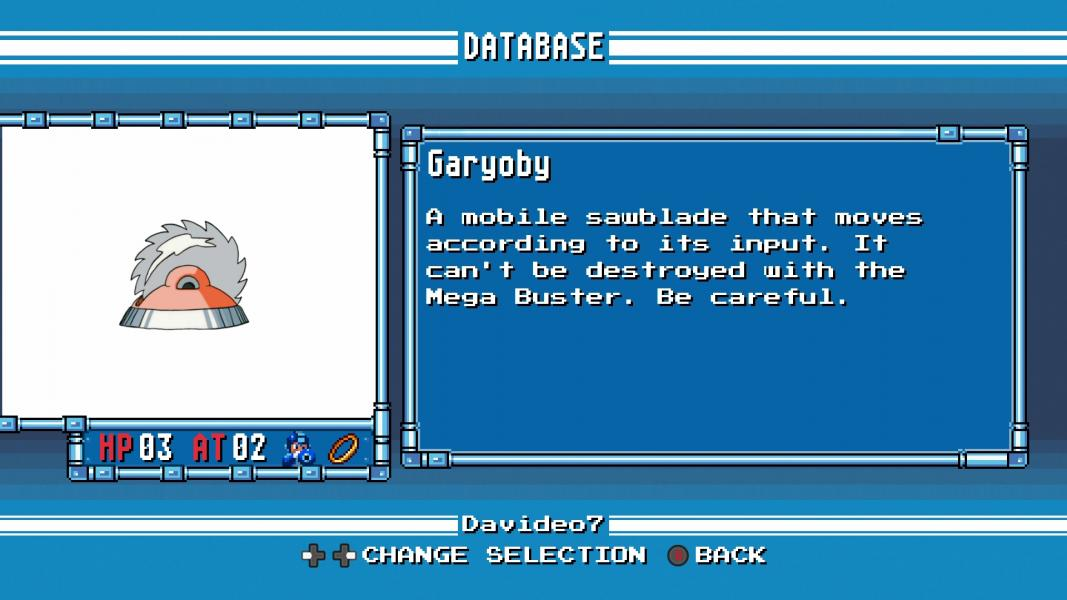 Garyoby -Character Profile :Mega Man 4 Database - User Screenshot