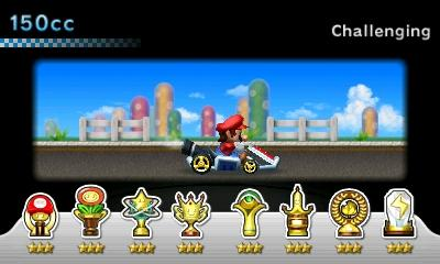 Mario Kart 7 - Misc Achivement - All cups with the 3-star rank in 150cc - User Screenshot