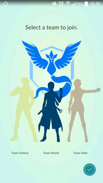 Guess who joined Team Mystic! Artic[Uno]! #1