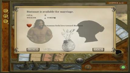7 Grand Steps, Step 1: What Ancients Begat - Menus  - Marriage Interest - User Screenshot