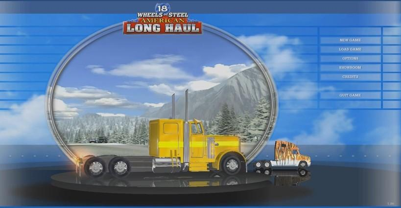 18 Wheels of Steel: American Long Haul - Menus  - Main Menu - User Screenshot