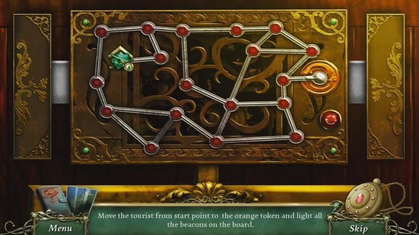 9 Clues: The Secret of Serpent Creek - Mini-Game  - The First Puzzle - User Screenshot