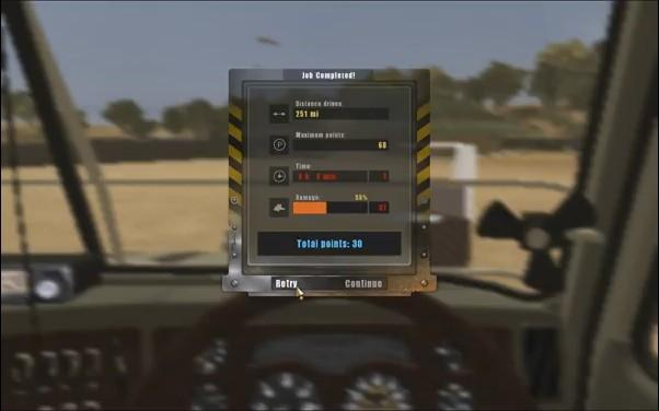 18 Wheels of Steel: Extreme Trucker - Misc  - Level Score - User Screenshot