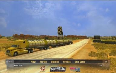 18 Wheels of Steel: Extreme Trucker - Menus  - Main Menu - User Screenshot