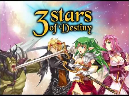 3 Stars of Destiny - Introduction  - Title Screen - User Screenshot