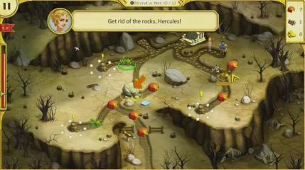 12 Labours of Hercules IV: Mother Nature - Level  - Starting The Tutorial - User Screenshot