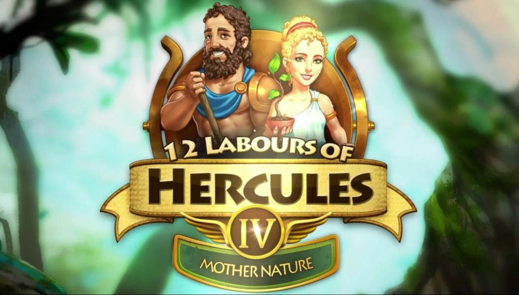 12 Labours of Hercules IV: Mother Nature - Introduction  - Title Screen - User Screenshot
