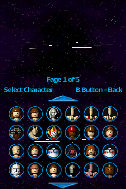 R4-P17 -Character Select :Floating heads......In space! - User Screenshot