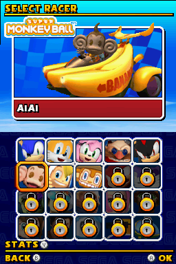 AiAi -Character Select :Thats like driving a hamburger car! - User Screenshot