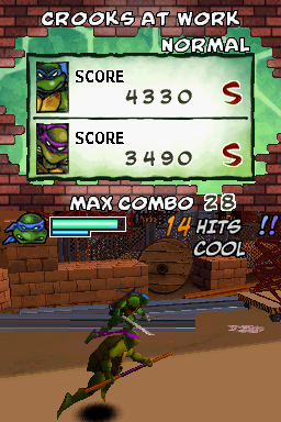 Donatello -Level :The running turtles! - User Screenshot
