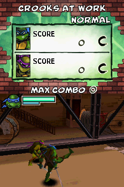 Donatello -Level :Watch my hi-jump kick! - User Screenshot