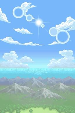 Pokemon Mystery Dungeon Explorers of Sky - Introduction  - Ah! Clear skies! - User Screenshot