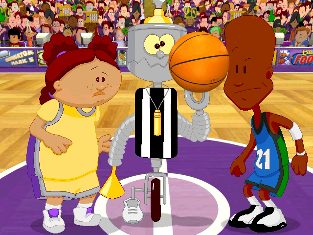Merveilleux Backyard Basketball   Character Profile   Hey There Robot   User Screenshot
