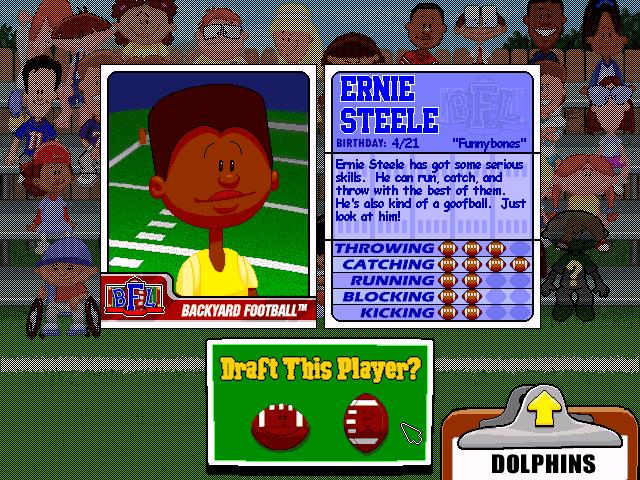 ernie steele character profile just look at him user screenshot