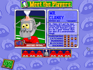 backyard football character profile cool robot user screenshot