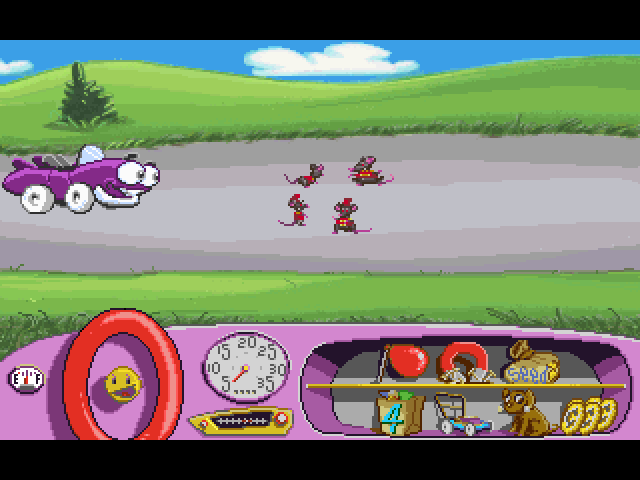 Putt-Putt -Location To Blue Street:a marching band with no music... - User Screenshot