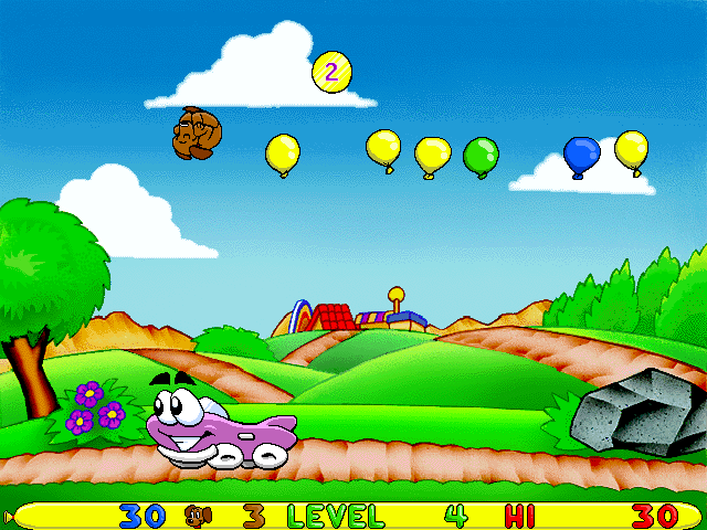 Putt-Putt -Level Level 4:launching my dog at balloons in the sky - User Screenshot