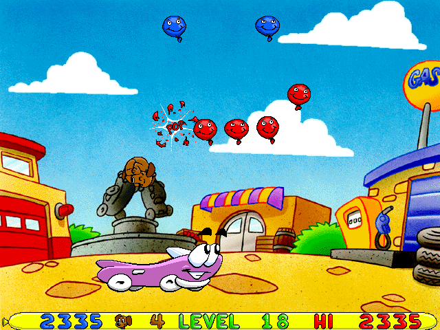 Putt-Putt -Level Level 18:putt-putt became a limo! - User Screenshot