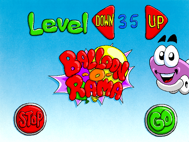 Putt-Putt -Level Select :sorry to PUTT in - User Screenshot