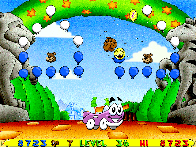 Putt-Putt -Level Level 36:breaking down fatty bear