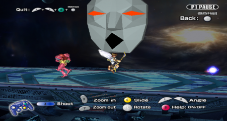 Super Smash Bros. Brawl - Misc Assist - 16-bit andross for whatever reason - User Screenshot