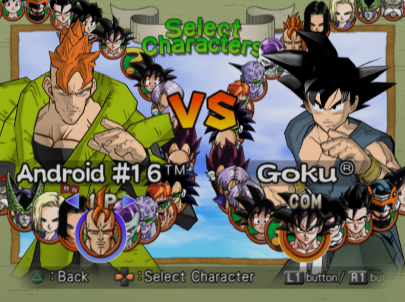 Android 16 Dragon Ball Z Video Game Character Profile Vizzed