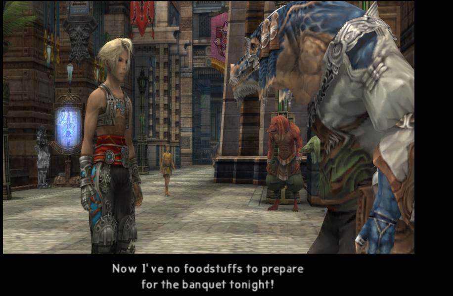 Final Fantasy XII - Cut-Scene  - Fun fact, Migelo has the same VA as Bender - User Screenshot