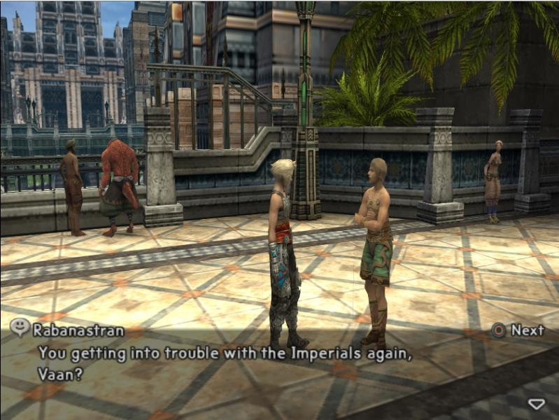 Final Fantasy XII - Location Rabanastre - Respect my authority D: - User Screenshot