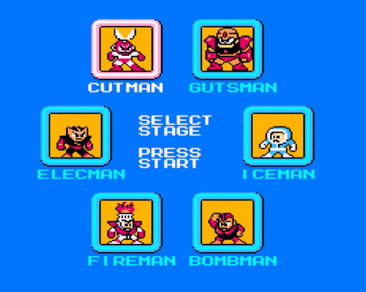 Elec Man -Character Select :The robot masters of Mega Man 1 - User Screenshot