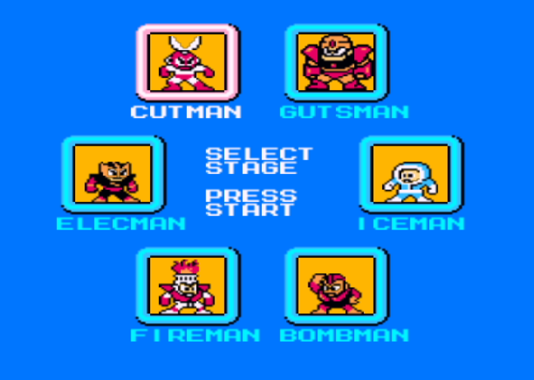 Elec Man -The classic roster - User Screenshot