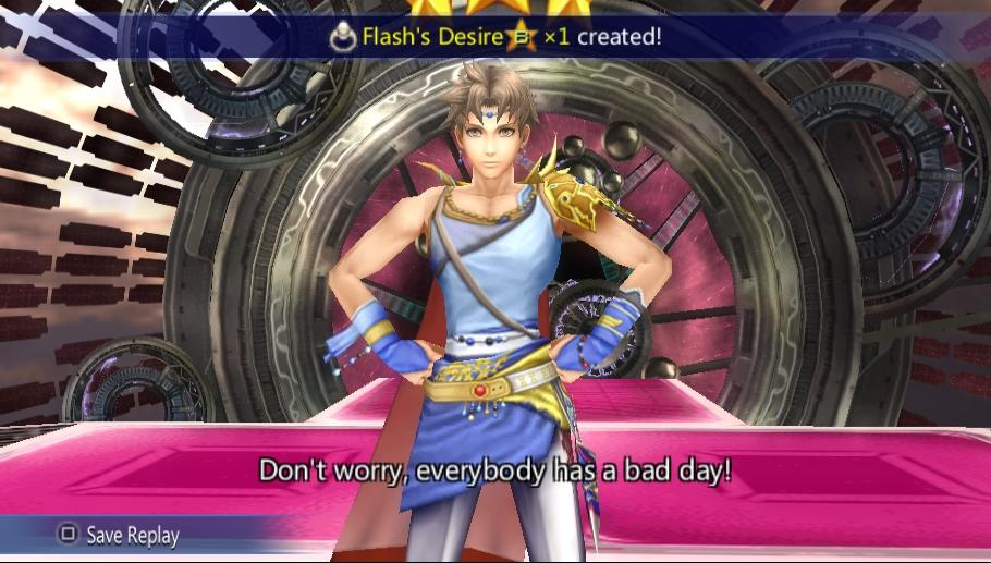 Bartz Klauser -Battle :Bartz victory EX mode and victory quote. - User Screenshot