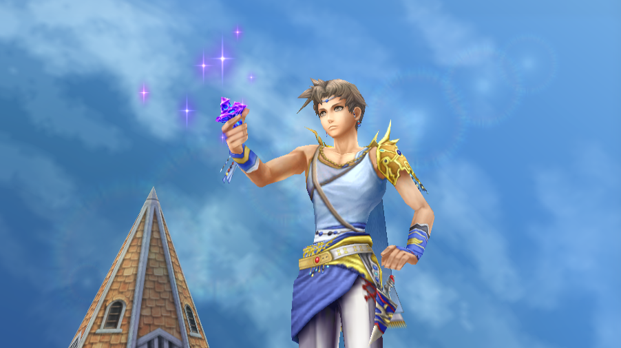 Bartz Klauser -Cut-Scene :Bartz obtains his real crystal - User Screenshot