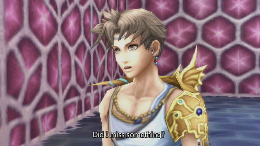 Bartz Klauser -Cut-Scene :Yeah, Gilgamesh was lookin for you :P - User Screenshot