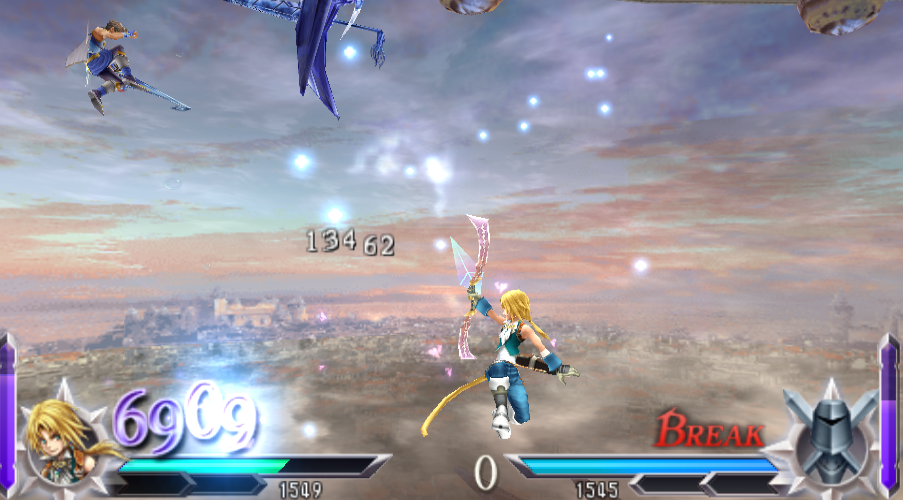 Bartz Klauser -Battle :Zidane and Bartz attacking at the same time - User Screenshot