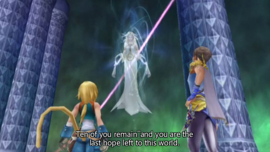 Bartz Klauser -Cut-Scene :Cosmos speaks to Zidane and Bartz - User Screenshot