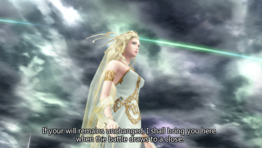 Cosmos -Cut-Scene :Cloud becomes a warrior of Cosmos. - User Screenshot