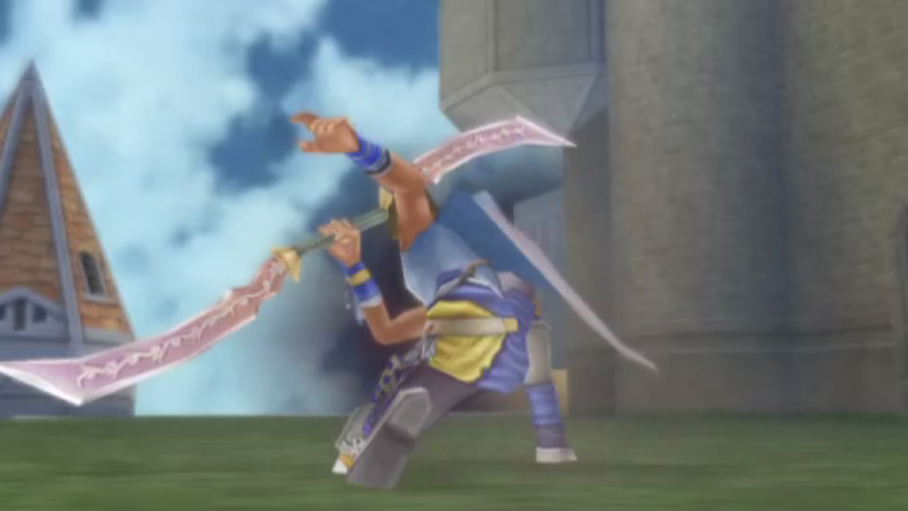 Bartz Klauser -Cut-Scene :Bartz using Zidane