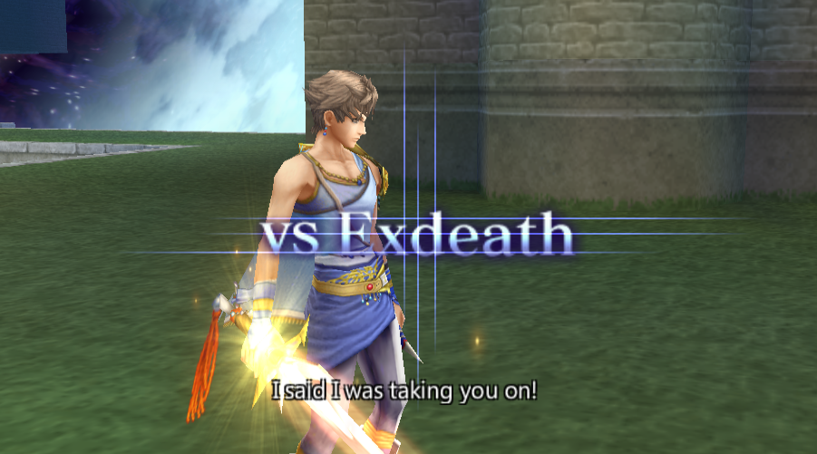 Bartz Klauser -Battle :Bartz vs Exdeath final battle, battle quotes - User Screenshot
