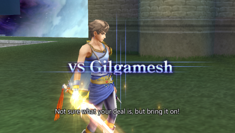 Bartz Klauser -Battle :Bartz vs Gilgamesh battle quotes (Bartz) - User Screenshot