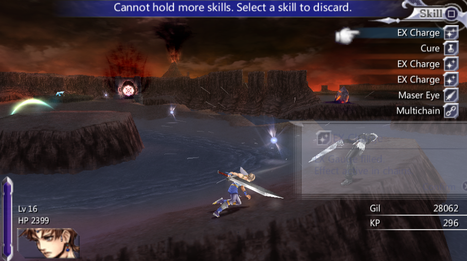 Bartz Klauser -Misc Extras:Oops, I accidentally hit Squall... - User Screenshot