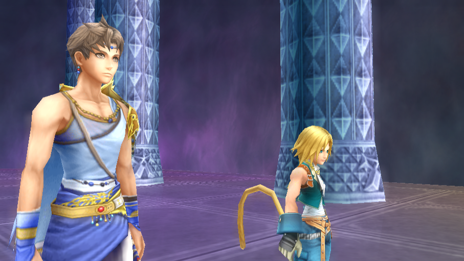 Bartz Klauser -Cut-Scene :Zidane and Bartz in Squall