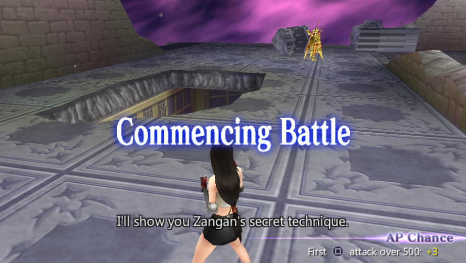 Tifa Lockhart -Battle :FFVII reference, also battle quotes. - User Screenshot
