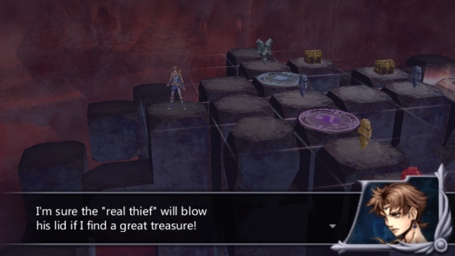 Bartz Klauser -Cut-Scene :I assume he means Zidane :P - User Screenshot