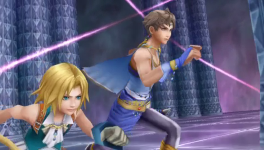 Bartz Klauser -Cut-Scene :Zidane and Bartz running for their crystal - User Screenshot